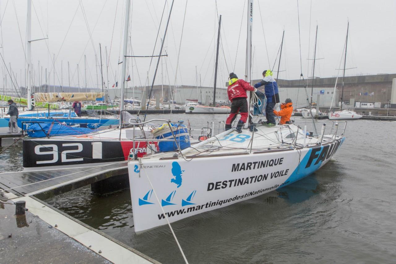 Convoyage mouvementé jusqu'à Lorient